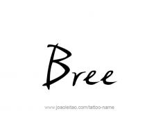 tattoo-design-name-bree-01