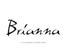 tattoo-design-name-brianna-01