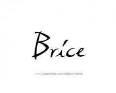 tattoo-design-name-brice-01