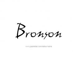 tattoo-design-name-bronson-01