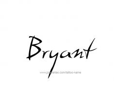 tattoo-design-name-bryant-01