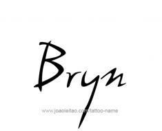tattoo-design-name-bryn-01
