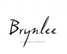 tattoo-design-name-brynlee-01