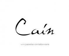 tattoo-design-name-cain-01