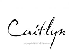 tattoo-design-name-caitlyn-01