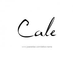 tattoo-design-name-cale-01