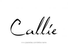 tattoo-design-name-callie-01