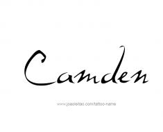 tattoo-design-name-camden-01
