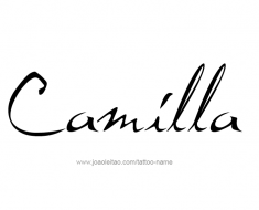tattoo-design-name-camilla-01
