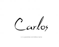 tattoo-design-name-carlos-01
