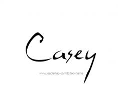 tattoo-design-name-casey-01