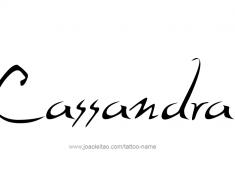 tattoo-design-name-cassandra-01