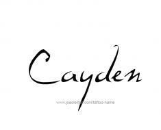 tattoo-design-name-cayden-01