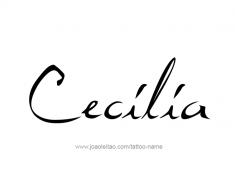 tattoo-design-name-cecilia-01