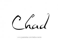 tattoo-design-name-chad-01
