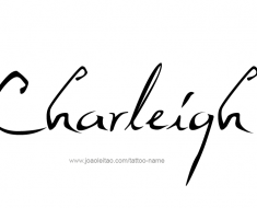 tattoo-design-name-charleigh-01