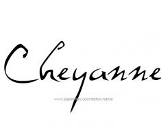 tattoo-design-name-cheyanna-01