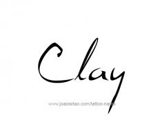tattoo-design-name-clay-01