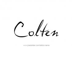tattoo-design-name-colten-01