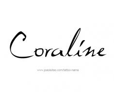tattoo-design-name-coraline-01