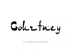 tattoo-design-name-courtney-01