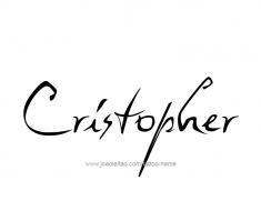 tattoo-design-name-cristopher-01
