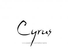 tattoo-design-name-cyrus-01