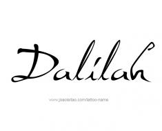 tattoo-design-name-dalilah-01