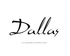 tattoo-design-name-dallas-01
