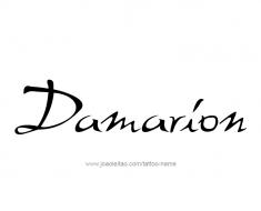 tattoo-design-name-damarion-01