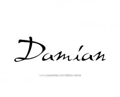tattoo-design-name-damian-01