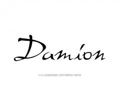 tattoo-design-name-damion-01