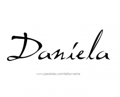 tattoo-design-name-daniela-01