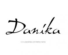 tattoo-design-name-danika-01