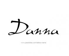 tattoo-design-name-danna-01
