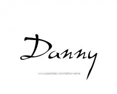 tattoo-design-name-danny-01