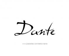 tattoo-design-name-dante-01