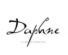 tattoo-design-name-daphne-01