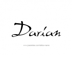 tattoo-design-name-darian-01