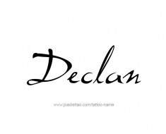tattoo-design-name-declan-01