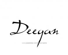 tattoo-design-name-deegan-01