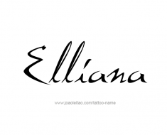 tattoo-design-name-elliana-01