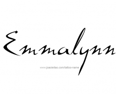 tattoo-design-name-emmalynn-01