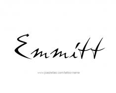 tattoo-design-name-emmitt-01