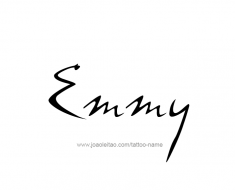 tattoo-design-name-emmy-01