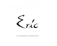 tattoo-design-name-eric-01
