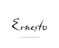 tattoo-design-name-ernesto-01
