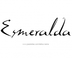 tattoo-design-name-esmeralda-01