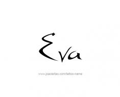 tattoo-design-name-eva-01