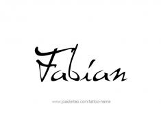 tattoo-design-name-fabian-01